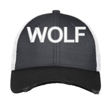 Wolf Vintage Mesh Cap Designed By Madhatter