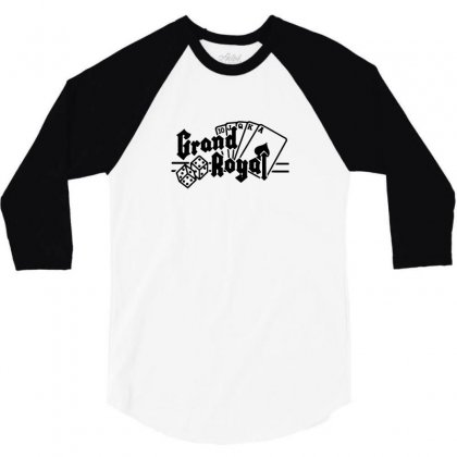 Grand Royal Record Label 3/4 Sleeve Shirt Designed By Funtee