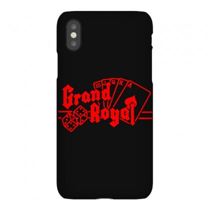 Grand Royal Record Label2 Iphonex Case Designed By Funtee