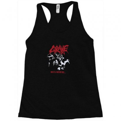 Grave You'll Never See Racerback Tank Designed By Funtee