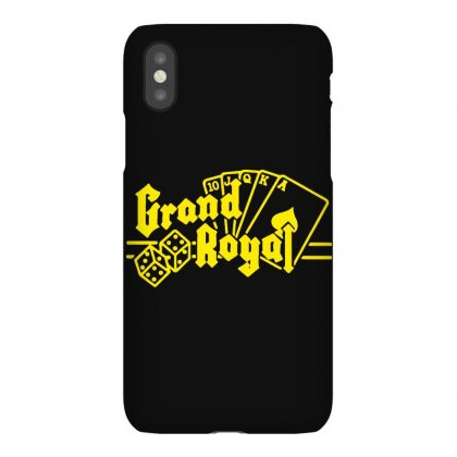 Grand Royal Record Label3 Iphonex Case Designed By Funtee