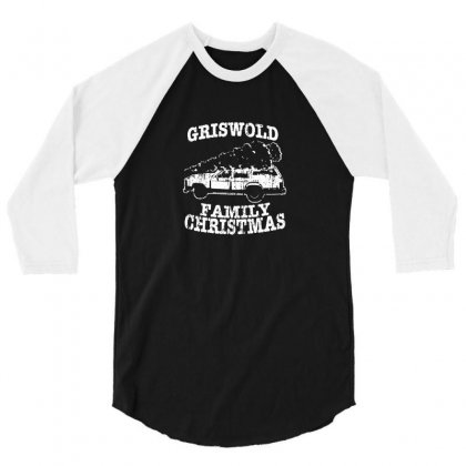Griswold Family Christmas 3/4 Sleeve Shirt Designed By Funtee