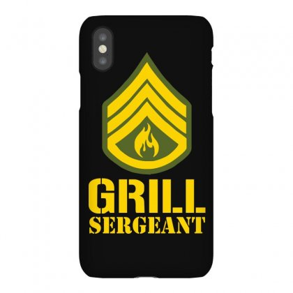 Grill Sergeant Military Iphonex Case Designed By Funtee