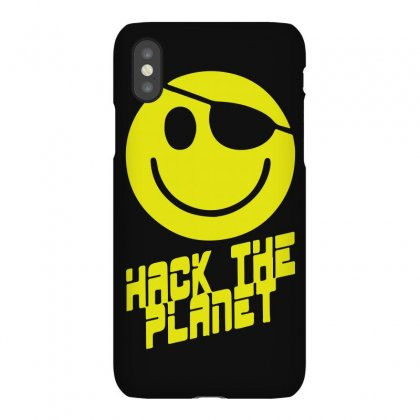Hack The Planet Iphonex Case Designed By Funtee