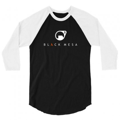 Half Life Black Mesa Research Corp 3/4 Sleeve Shirt Designed By Funtee