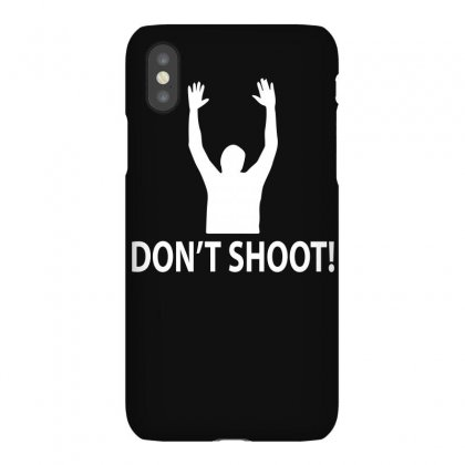 Hands Up Don't Shoot Iphonex Case Designed By Funtee