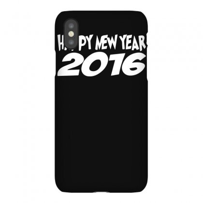 Happy New Year 2016 Christmas Party Iphonex Case Designed By Funtee