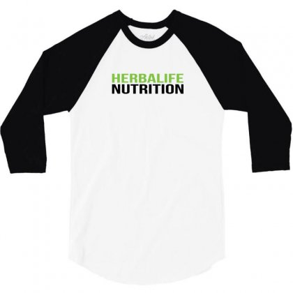 Herbalife Nutrition Funny 3/4 Sleeve Shirt Designed By Ismi