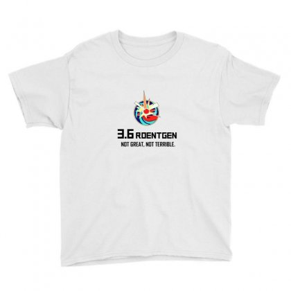 36 Roentgen Not Great Not Terrible Youth Tee Designed By Willo
