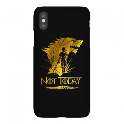 Golden Not Today Game Of Thrones Iphonex Case Designed By Balqis Tees