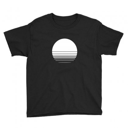 The Geometry Of Sunrise Youth Tee Designed By Willo