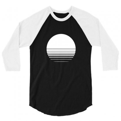 The Geometry Of Sunrise 3/4 Sleeve Shirt Designed By Willo