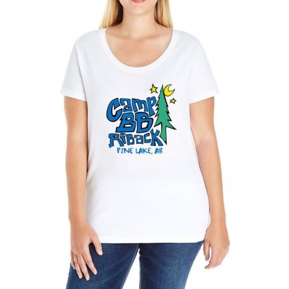 Camp Bb Ladies Curvy T-shirt Designed By Willo