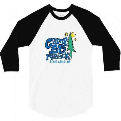 Camp Bb 3/4 Sleeve Shirt Designed By Willo