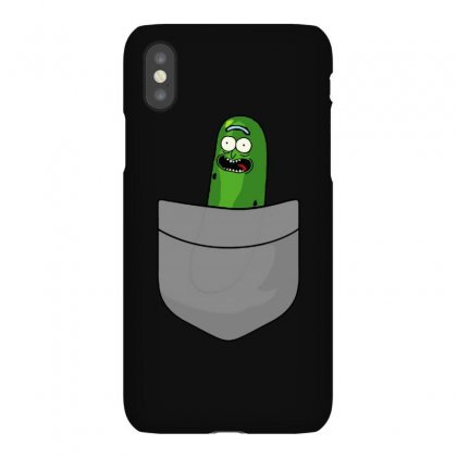 Pickle Pocket Iphonex Case Designed By Balqis Tees