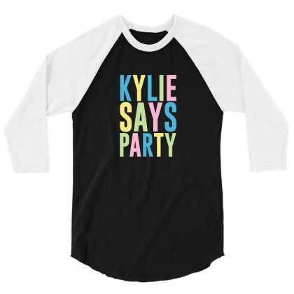 Kylie Minogue 3/4 Sleeve Shirt Designed By Willo