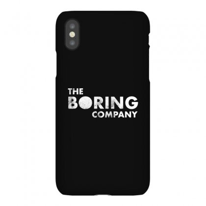 The Boring Company Iphonex Case Designed By Balqis Tees