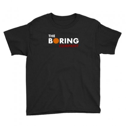 The Boring Company Elon Musk Youth Tee Designed By Balqis Tees