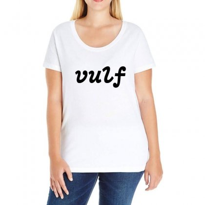 Vulf Ladies Curvy T-shirt Designed By Willo
