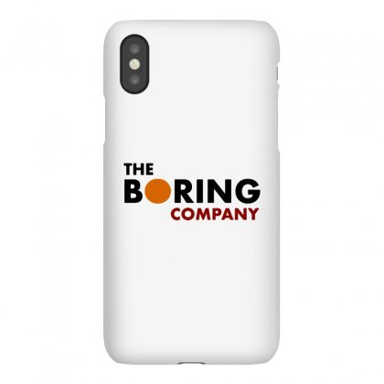 The Boring Company Elon Musk Iphonex Case Designed By Balqis Tees