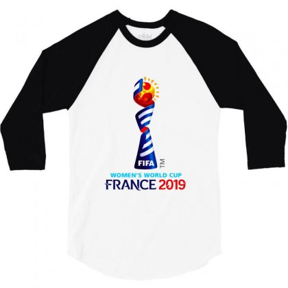 Women's World Cup 2019 3/4 Sleeve Shirt Designed By Balqis Tees