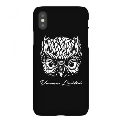 Vanoss Limited White Owl Iphonex Case Designed By Balqis Tees