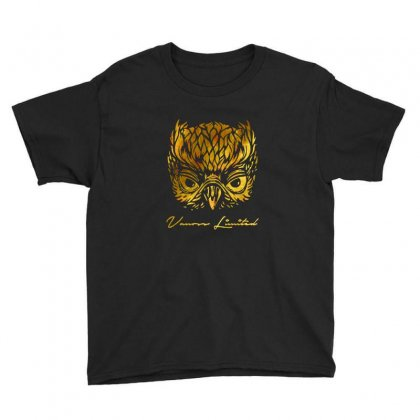 Vanoss Limited Golden Owl Youth Tee Designed By Balqis Tees
