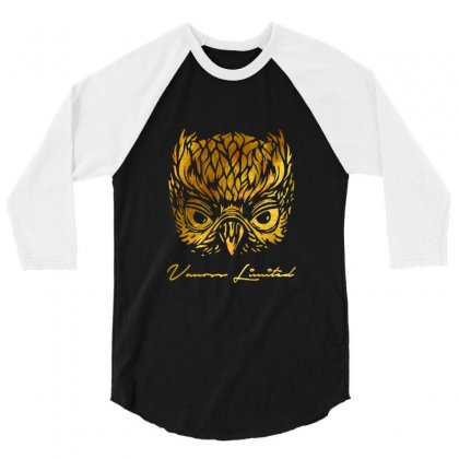 Vanoss Limited Golden Owl 3/4 Sleeve Shirt Designed By Balqis Tees