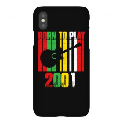 Born To Play Guitar 2001 T Shirt Iphonex Case Designed By Hung