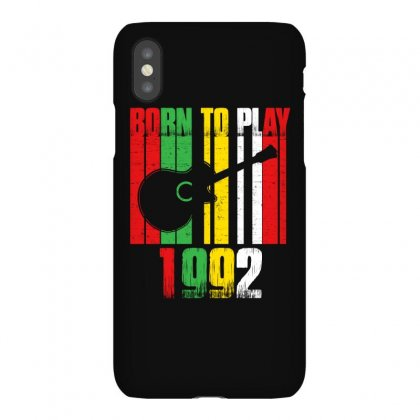 Born To Play Guitar 1992 T Shirt Iphonex Case Designed By Hung