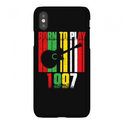 Born To Play Guitar 1997 T Shirt Iphonex Case Designed By Hung