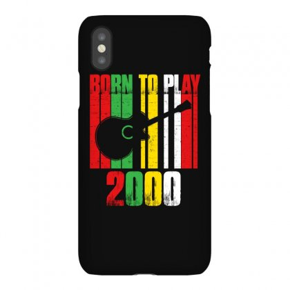 Born To Play Guitar 2000 T Shirt Iphonex Case Designed By Hung