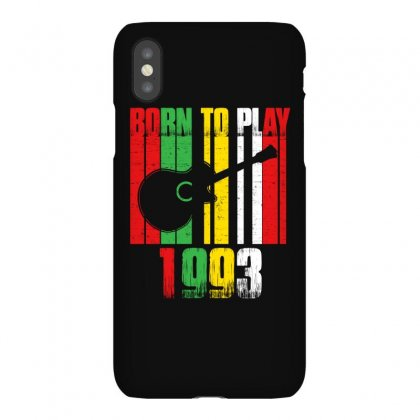 Born To Play Guitar 1993 T Shirt Iphonex Case Designed By Hung