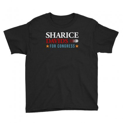 Sharice Davids For The  Congress Youth Tee Designed By Balqis Tees