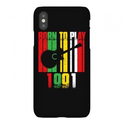 Born To Play Guitar 1991 T Shirt Iphonex Case Designed By Hung