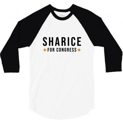 Sharice Davids Kansas For Congress 3/4 Sleeve Shirt Designed By Balqis Tees
