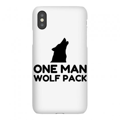 One Man Wolf Pack Iphonex Case Designed By Perfect Designers