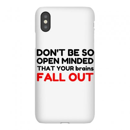 Open Minded Iphonex Case Designed By Perfect Designers