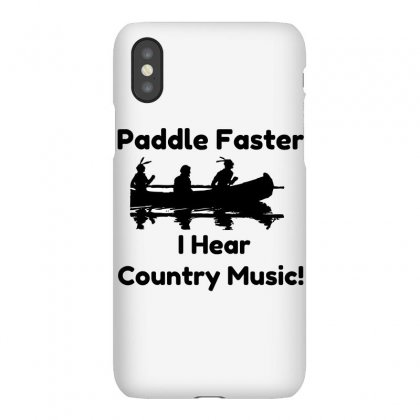 Paddle Faster Country Music Iphonex Case Designed By Perfect Designers