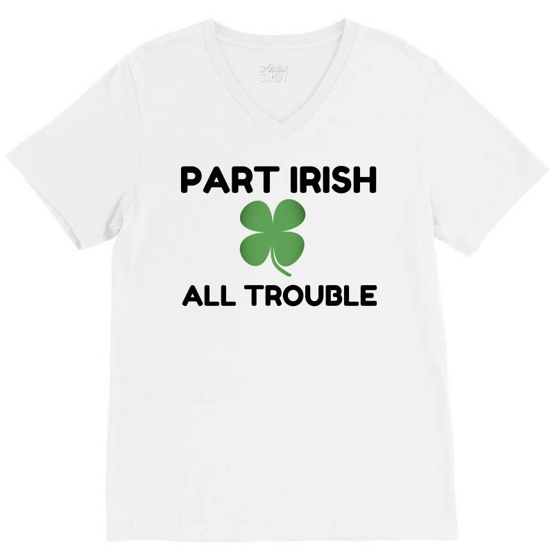 Part Irish V-neck Tee | Artistshot