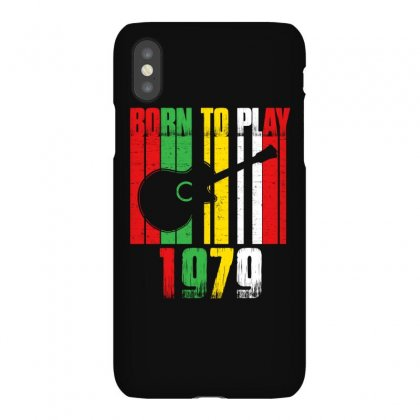 Born To Play Guitar 1979 T Shirt Iphonex Case Designed By Hung