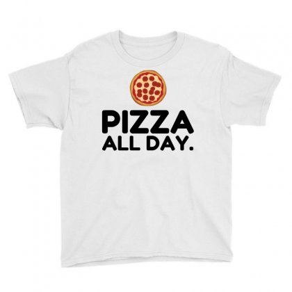 Pizza All Day Youth Tee Designed By Perfect Designers