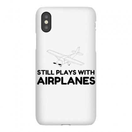 Plays With Airplanes Iphonex Case Designed By Perfect Designers