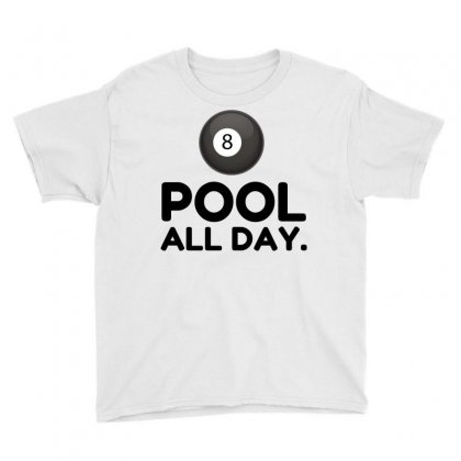 Pool All Day Youth Tee Designed By Perfect Designers