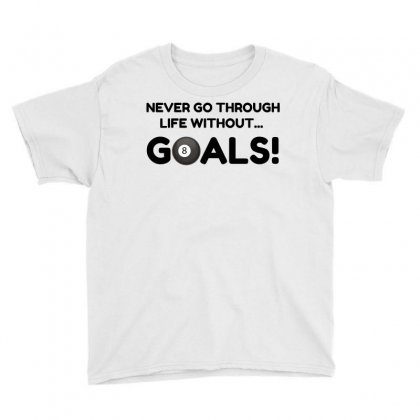 Pool Goals Youth Tee Designed By Perfect Designers