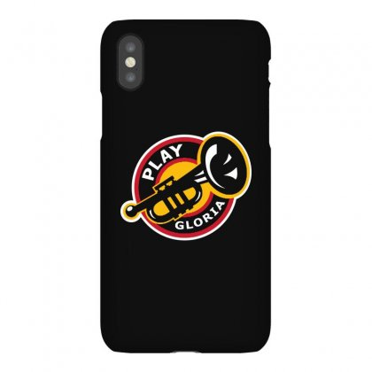Play Gloria Iphonex Case Designed By Balqis Tees