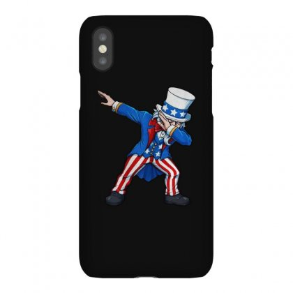 Fourth Of July Dabbing Uncle Sam Usa Iphonex Case Designed By Balqis Tees