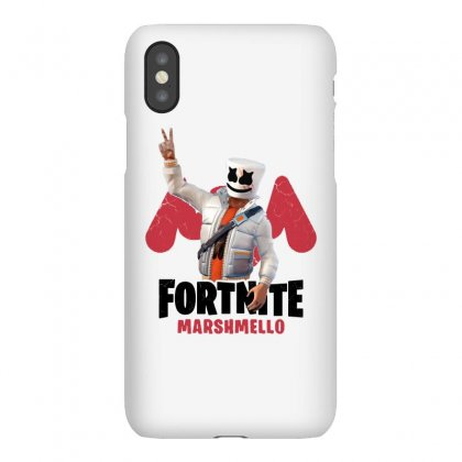 Fortnite Marshmello Iphonex Case Designed By Balqis Tees