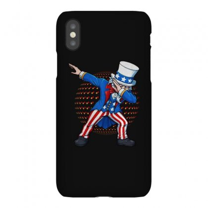 Dabbing Uncle Sam Usa Iphonex Case Designed By Balqis Tees