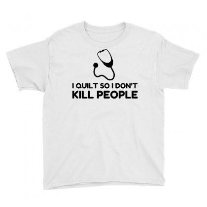 Quilt Kill People Youth Tee Designed By Perfect Designers